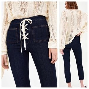 Zara Jeans | High Waist Skinny Ankle Length NWT